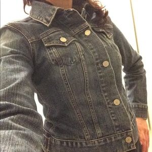 Gap stretch fitted Jean jacket